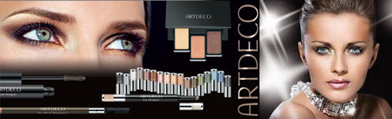Art deco make-up