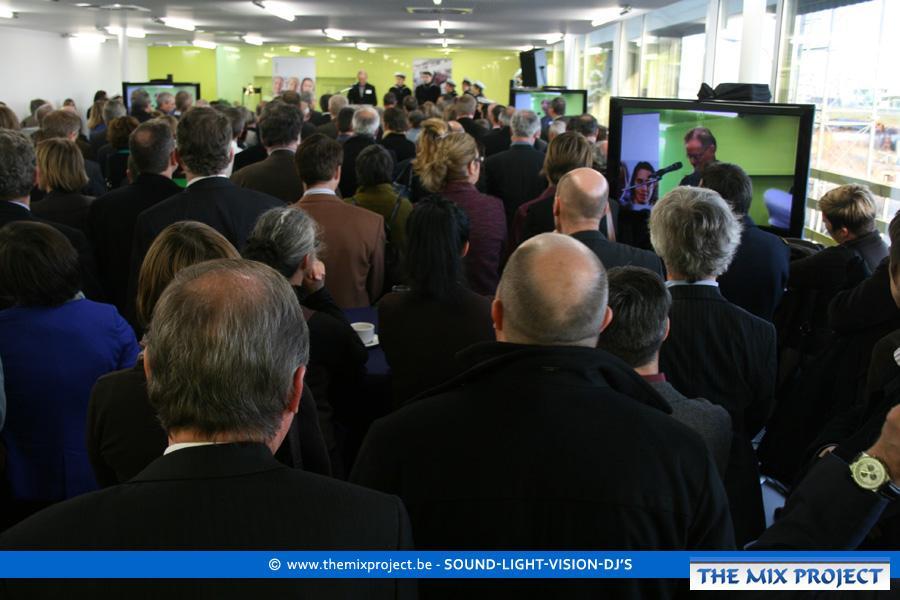 Foto's Opening nieuw VDAB kantoor Zeebrugge 2011