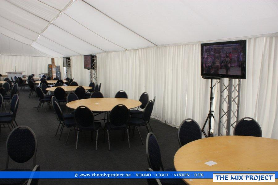 Foto's VIP tent WK Wielrennen Valkenburg-Maastricht 2012