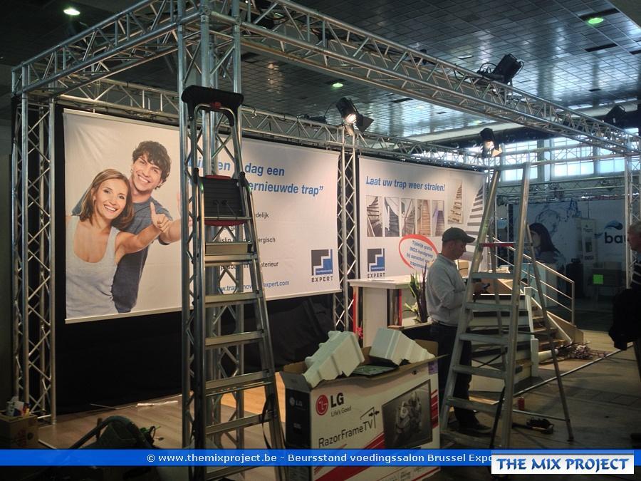 Foto's Beursstand voedingssalon te Brussel expo
