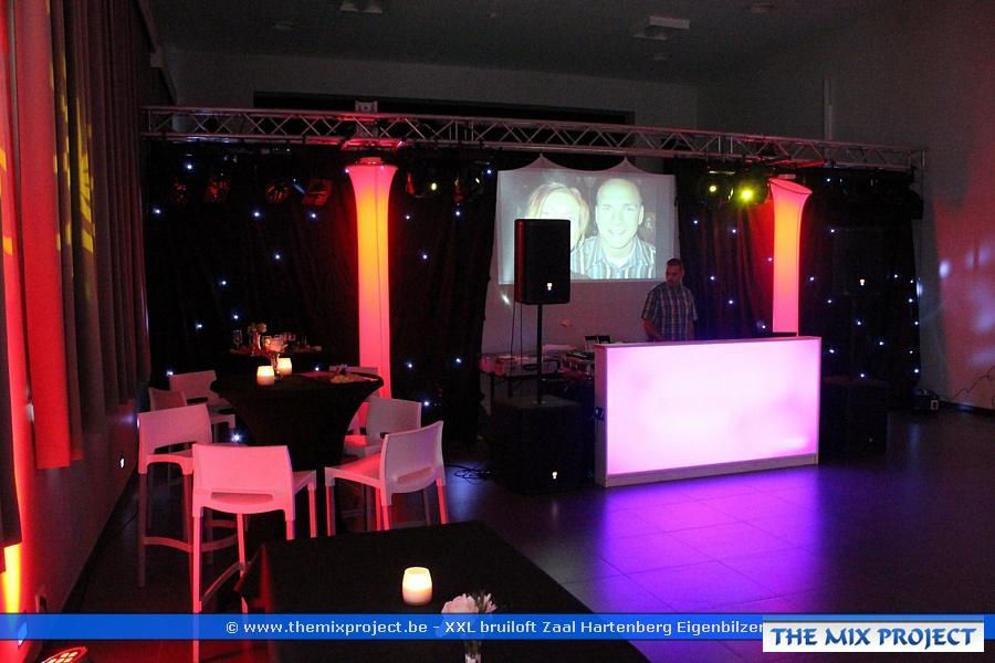 Foto's XXL bruiloft te Zaal Hartenberg Eigenbilzen