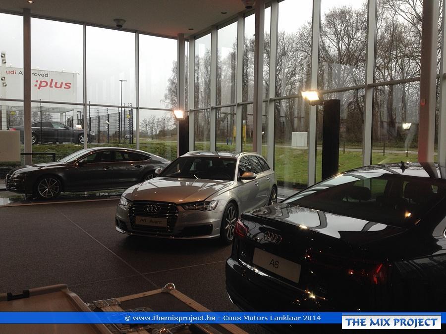 Foto's Lancering nieuwe Audi modellen te Coox Motors Lanklaar