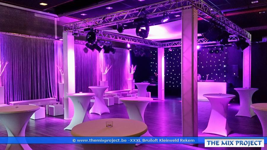 Foto's Decoratie deluxe bruiloft  te Ontmoetingscentrum OC Kleinveld te Rekem