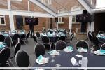 Foto's TV schermen verhuur te Amstel Gold Race VIP tent Valkenburg