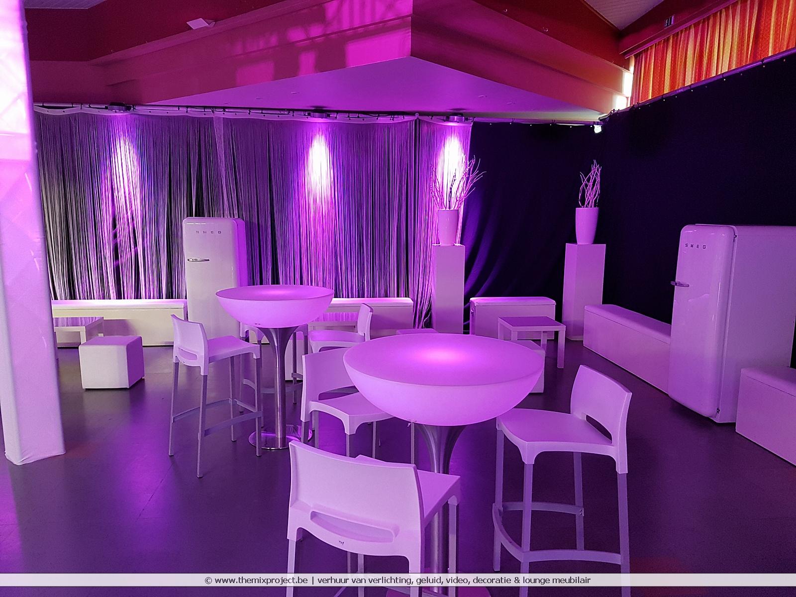 Foto's Luxe lounge verjaardagsfeest te Ontmoetingscentrum de Posthalt Zutendaal