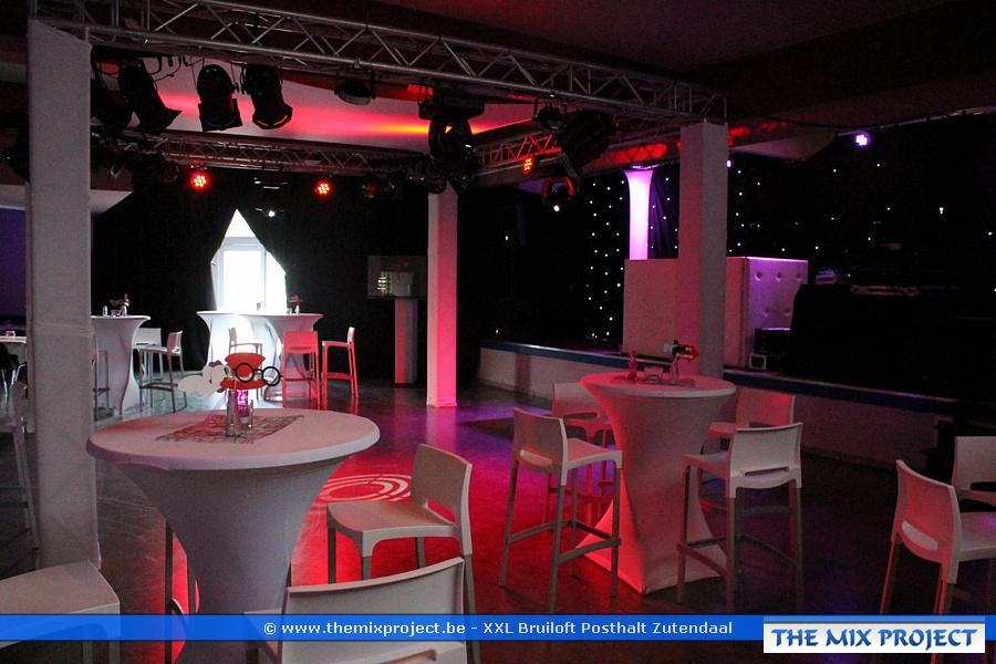 Foto's Decoratie luxe bruiloft te Posthalt Zutendaal